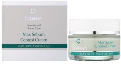 Clarena Max Dermasebum Line Max нормалізуючий крем для жирної шкіри 1