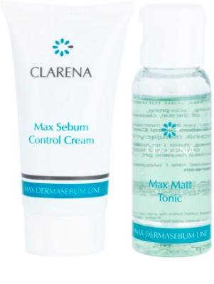 Clarena Max Dermasebum Line Max zestaw kosmetyków I. 1