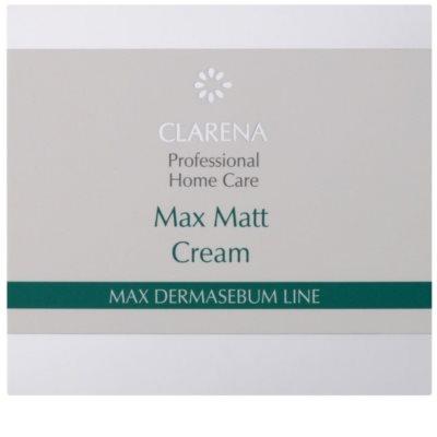 Clarena Max Dermasebum Line Max Matt mattierende Creme für fettige Haut 2