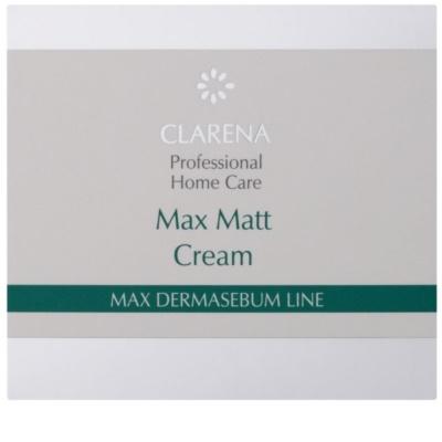 Clarena Max Dermasebum Line Max Matt matující krém pro mastnou pleť 2