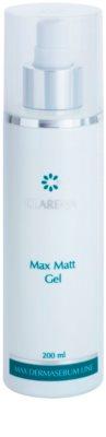 Clarena Max Dermasebum Line Max Matt Delikatny żel oczyszczający dla skóry tłustej