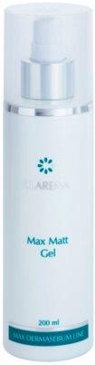 Clarena Max Dermasebum Line Max Matt gél gyengéd tisztításra zsíros bőrre