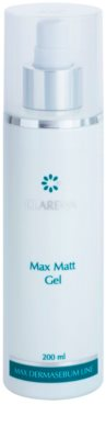 Clarena Max Dermasebum Line Max Matt gel pentru curățarea delicata a tenului gras
