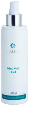 Clarena Max Dermasebum Line Max Matt gél pre jemné čistenie mastnej pleti 1