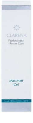 Clarena Max Dermasebum Line Max Matt gel pro jemné čištění mastné pleti 3