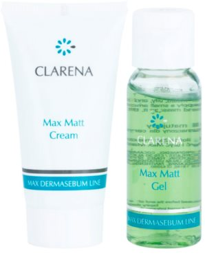 Clarena Max Dermasebum Line Max Matt lote cosmético II. 1
