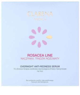 Clarena Medica Rosacea noční sérum pro citlivou pleť se sklonem ke zčervenání 2