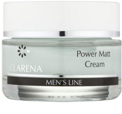 Clarena Men's Line Power crema matifianta pentru ten gras