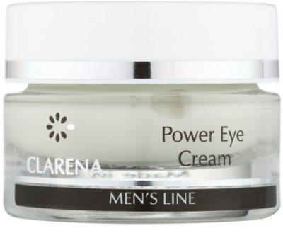 Clarena Men's Line Power крем для шкіри навколо очей проти набряків та темних кіл
