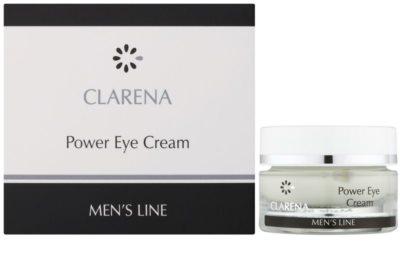 Clarena Men's Line Power крем для шкіри навколо очей проти набряків та темних кіл 1