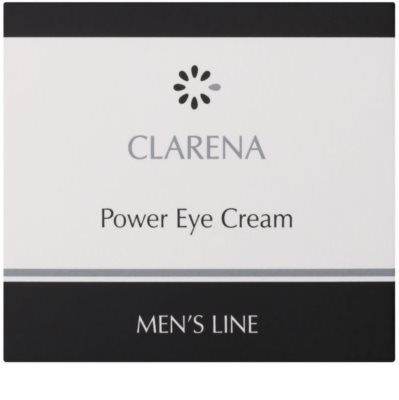 Clarena Men's Line Power крем для шкіри навколо очей проти набряків та темних кіл 2