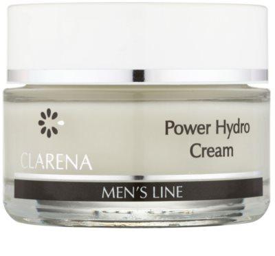 Clarena Men's Line Power feuchtigkeitsspendende Gesichtscreme