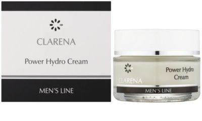 Clarena Men's Line Power feuchtigkeitsspendende Gesichtscreme 1
