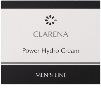 Clarena Men's Line Power feuchtigkeitsspendende Gesichtscreme 2