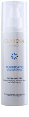 Clarena Medica Purificatio antibakteriális tisztító gél a problémás bőrre