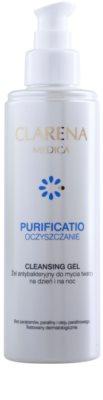 Clarena Medica Purificatio antibakterielles Reinigungsgel für unreine Haut 1