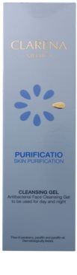 Clarena Medica Purificatio antibakteriális tisztító gél a problémás bőrre 3