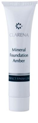 Clarena Perfect Finish Line Mineral мінеральний тональний крем для чутливої та схильної до акне шкіри маленька упаковка