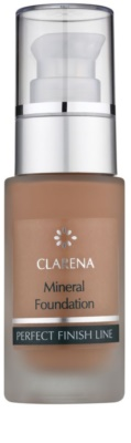 Clarena Perfect Finish Line Mineral mineralni tekoči puder za občutljivo in aknasto kožo  velik paket