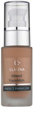 Clarena Perfect Finish Line Mineral минерален фон дьо тен за чувствителна и акнеозна кожа големи опаковки