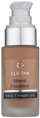 Clarena Perfect Finish Line Mineral mineralni tekoči puder za občutljivo in aknasto kožo  velik paket 1