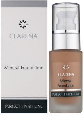 Clarena Perfect Finish Line Mineral минерален фон дьо тен за чувствителна и акнеозна кожа големи опаковки 2
