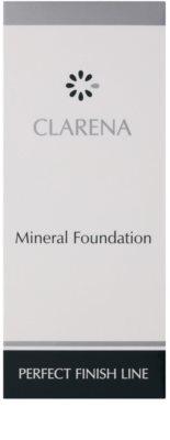Clarena Perfect Finish Line Mineral mineralni tekoči puder za občutljivo in aknasto kožo  velik paket 3