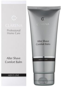 Clarena Men's Line balsam po goleniu o działaniu wygładzającym 1