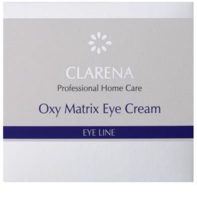 Clarena Eye Line Oxy Matrix crema oxigenante para contorno de ojos 2