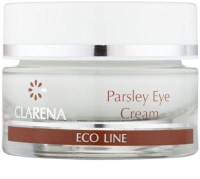 Clarena Eco Line Parsley očný krém proti opuchom a tmavým kruhom