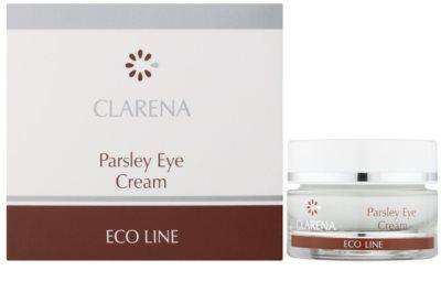Clarena Eco Line Parsley Augencreme gegen Schwellungen und Augenringe 1