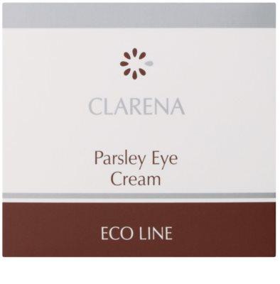 Clarena Eco Line Parsley Augencreme gegen Schwellungen und Augenringe 2