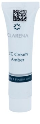 Clarena Perfect Finish Line CC Cream pentru piele sensibila predispusa la inrosire pachet mic