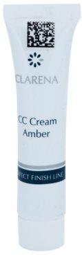 Clarena Perfect Finish Line CC Creme für Haut mit Neigung zum Erröten kleine Packung