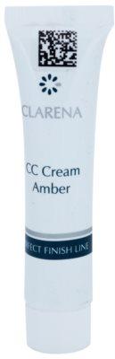 Clarena Perfect Finish Line krem CC dla skóry skłonnej do zaczerwienień małe opakowanie