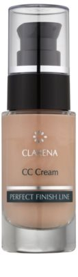 Clarena Perfect Finish Line CC krém pro pleť se sklonem k začervenání velké balení