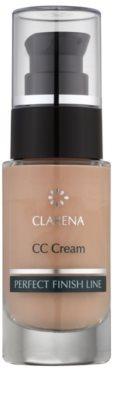 Clarena Perfect Finish Line krem CC dla skóry skłonnej do zaczerwienień duże opakowanie