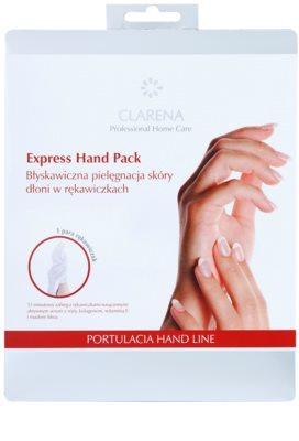 Clarena Portulacia Hand Line feuchtigkeitsspendende Handschuhe