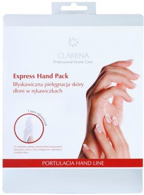 Clarena Portulacia Hand Line rękawiczki nawilżające