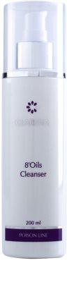 Clarena Poison Line 8' Oils aceite hidrófilo para desmaquillar suavemente la piel