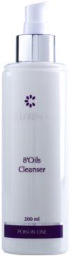 Clarena Poison Line 8' Oils hydrofilný olej pre šetrné odlíčenie pleti 1