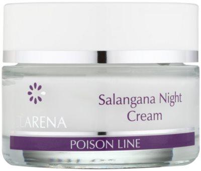 Clarena Poison Line Salangana crema de noapte pentru fermitate si contur pentru piele cu hiperpigmentare