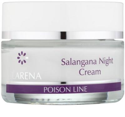 Clarena Poison Line Salangana нощен крем против бръчки  за кожа с хиперпигментация