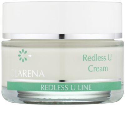 Clarena Redless U Line regenerierende Creme für empfindliche Haut mit der Neigung zum Erröten