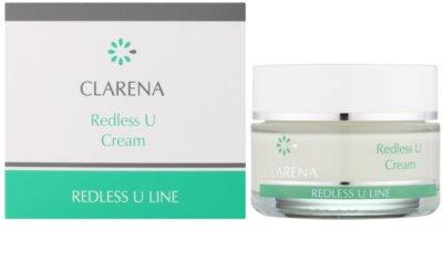 Clarena Redless U Line regenerační krém pro citlivou pleť se sklonem ke zčervenání 1