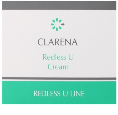Clarena Redless U Line regenerační krém pro citlivou pleť se sklonem ke zčervenání 2