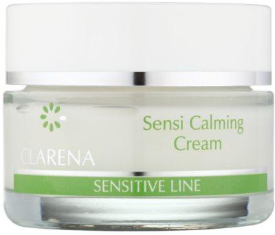 Clarena Sensitive Line Sensi beruhigende und schützende Creme für empfindliche Haut mit der Neigung zum Erröten
