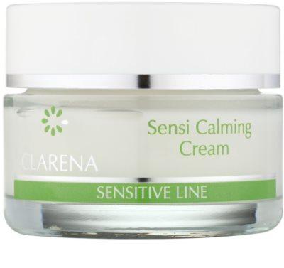 Clarena Sensitive Line Sensi zklidňující a ochranný krém pro citlivou pleť se sklonem ke zčervenání