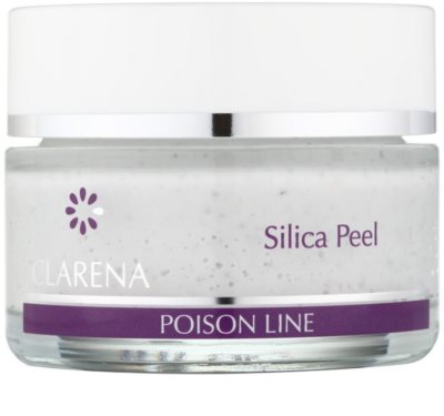 Clarena Poison Line Silica Peel почистващ пилинг за лице, врат и деколкте