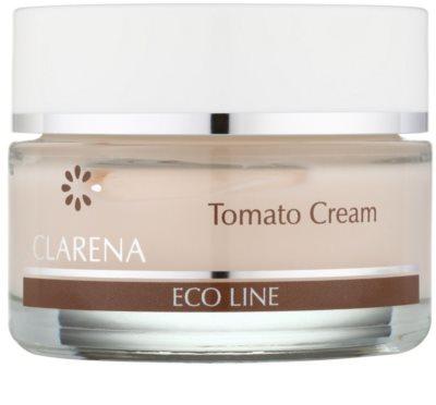 Clarena Eco Line Tomato verjüngende Creme Creme zur Wiederherstellung der Festigkeit der Haut